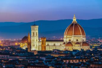 обоя duomo,  firenze - italy, города, флоренция , италия, простор