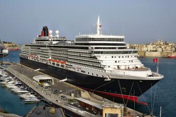 обоя queen elizabeth, корабли, лайнеры, круиз, лайнер