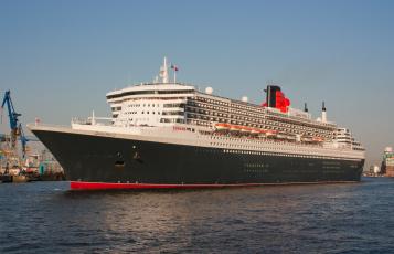 обоя queen mary ii, корабли, лайнеры, круиз, лайнер