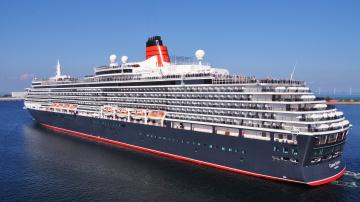 обоя queen victoria, корабли, лайнеры, круиз, лайнер