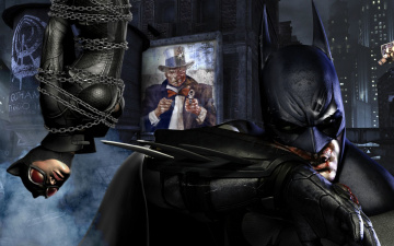 Картинка batman arkham city видео игры