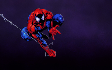 Картинка Человек паук рисованные комиксы Человек-паук spider-man