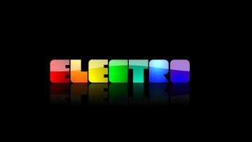 Картинка electo разное надписи логотипы знаки надпись цвета