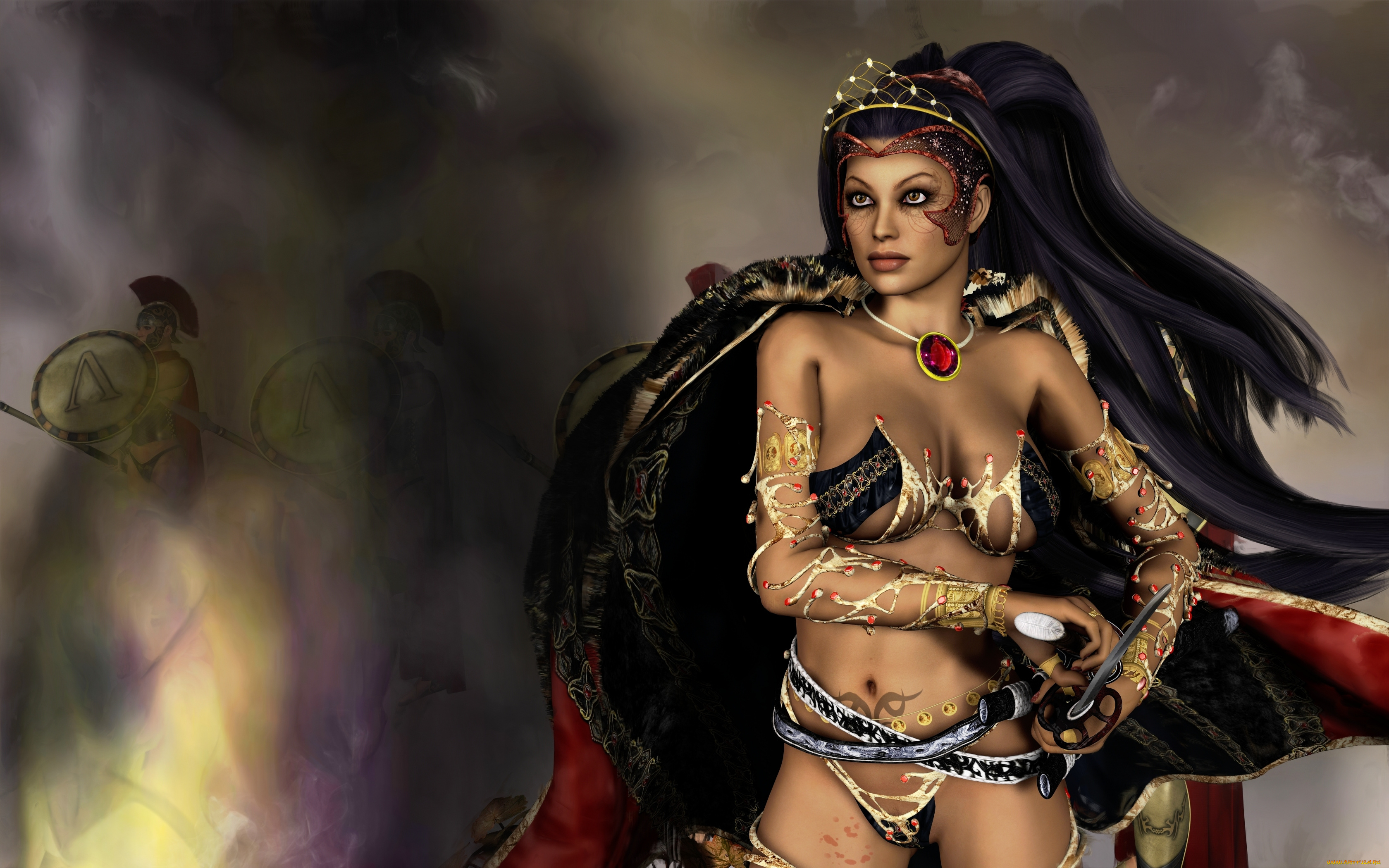 Рождение девы воительницы комикс, Дева-воительница - ЛитМир 15 фотография