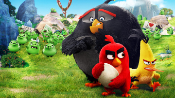 обоя the angry birds movie, мультфильмы, персонажи