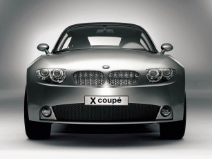обоя bmw x coupe concept 2001, автомобили, bmw, 2001, coupe, concept, x