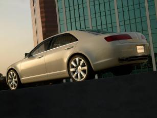 обоя lincoln zephyr concept 2004, автомобили, lincoln, 2004, concept, zephyr