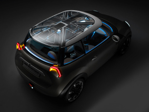 обоя mini rocketman concept 2011, автомобили, mini, concept, rocketman, 2011