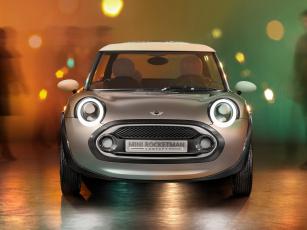 обоя mini rocketman concept 2011, автомобили, mini, rocketman, 2011, concept