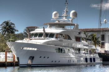 обоя yacht sofia - fort lauderdale, корабли, Яхты, суперяхта