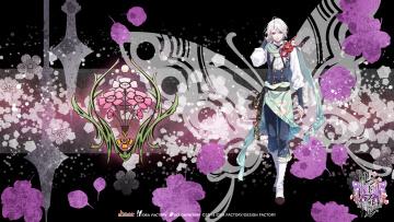 обоя аниме, reine des fleurs, парень