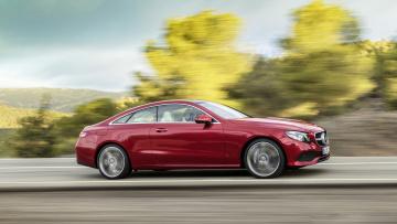 обоя mercedes-benz e-class coupe 2017, автомобили, mercedes-benz, 2017, coupe, e-class