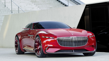 обоя mercedes-maybach 6 concept 2016, автомобили, mercedes-benz, mercedes-maybach, 2016, concept, 6