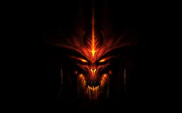 обоя фэнтези, демоны, огонь, демон, дьявол