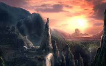 Картинка фэнтези пейзажи