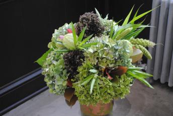 Картинка цветы букеты +композиции зеленый букет