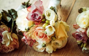 Картинка цветы букеты +композиции розы фрезии