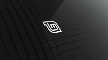 обоя компьютеры, linux, фон, логотип