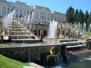 Картинка петергоф города санкт петербург россия