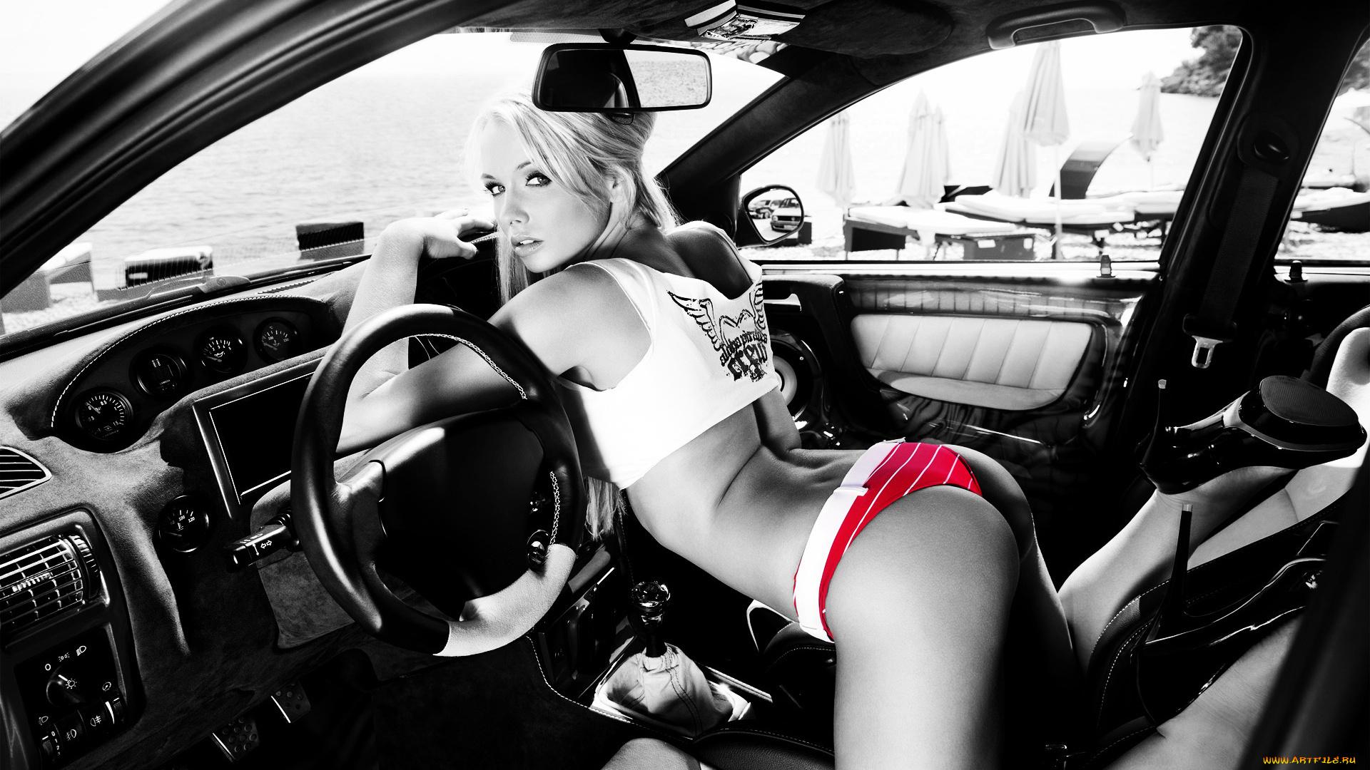 Фото девушек и авто эротика