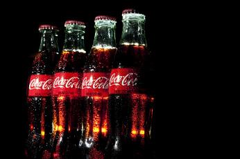 обоя бренды, coca-cola, напиток