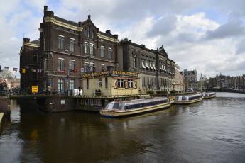 Картинка paris +france корабли теплоходы город суда прогулочные причал набережная