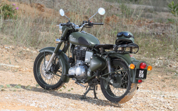 обоя enfield 500 classic, мотоциклы, royal enfield, enfield