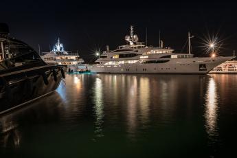 обоя корабли, Яхты, суперяхта