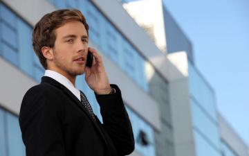 обоя мужчины, - unsort, мобильный, телефон, разговор