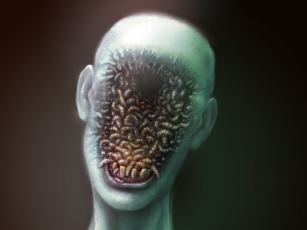 Картинка фэнтези нежить черви