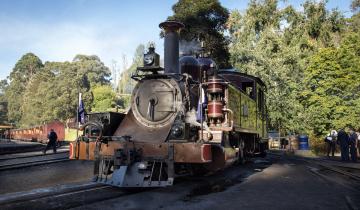 Картинка техника паровозы рельсы паровоз железная дорога