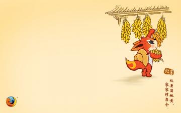 Картинка компьютеры mozilla+firefox логотип фон лиса