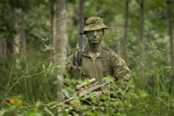 обоя оружие, армия, спецназ, australian, army, солдат