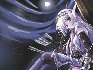 обоя аниме, weapon, blood, technology