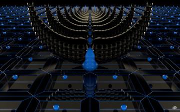 Картинка 3д графика fractal фракталы фон узор цвета