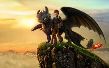 Картинка how+to+train+your+dragon+2 мультфильмы дракон