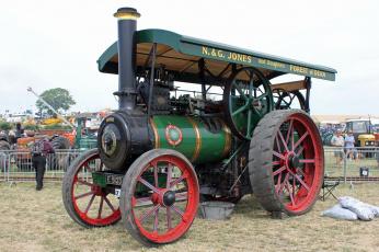 Картинка техника тракторы трактор паровой