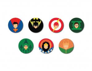обоя рисованное, минимализм, aquaman, flash, kal-el, heroes, badges, wonder, woman, justice, league, the, diana, green, lantern, bat, superman, batman, steeal, man, arrow, bruce, wayne