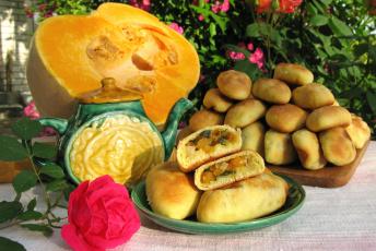 Картинка еда пироги тыква пирожки