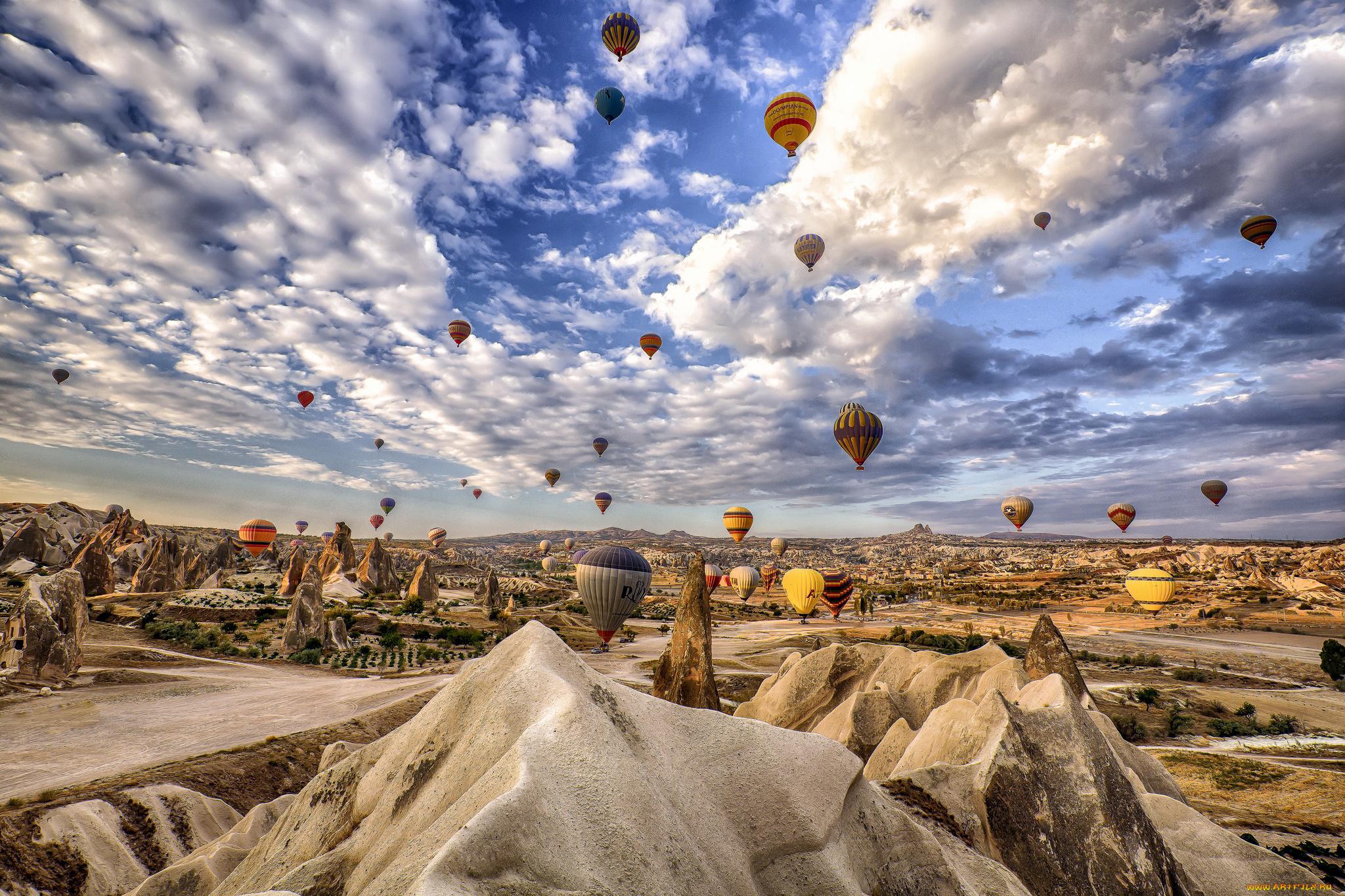 Uchisar Area, Cappadocia, Turkey  № 1427707 бесплатно