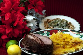 обоя еда, мясные блюда, буженина, лайм, лимон