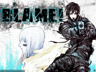 обоя аниме, blame