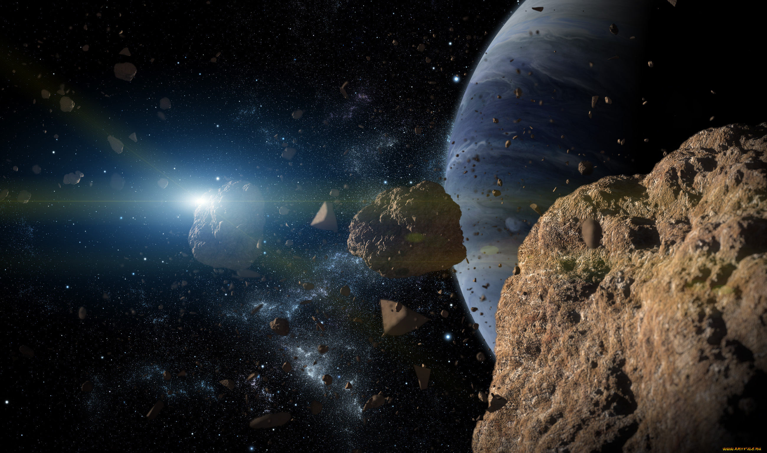 asteroid or comet weird blue space rock phaethon gets a - HD2600×1494