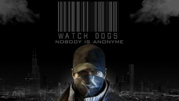 Картинка видео игры watch dogs город лицо ночь