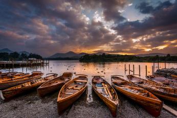 Картинка корабли лодки +шлюпки река горы
