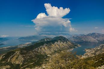 обоя kotor , montenegro, города, - панорамы, бухта