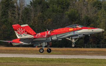 обоя cf-18, авиация, боевые самолёты, истребитель