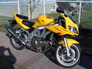 Картинка sv650s 03 мотоциклы suzuki