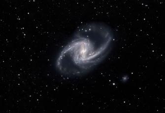 обоя космос, галактики, туманности, звезды, spiral, galaxy, спиральная, галактика