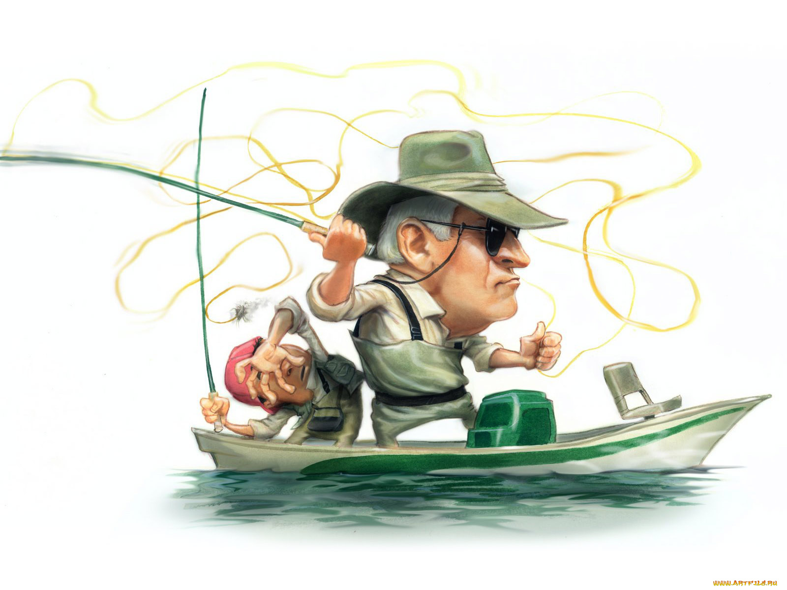 Картинки на рыбалке приколы рисованные
